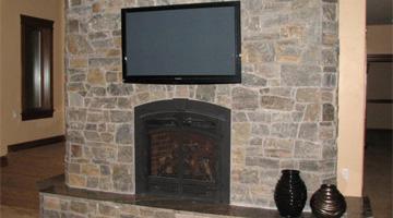 flat screen tv installation project